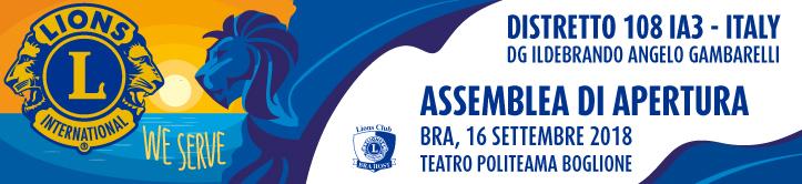 Banner attivazione congresso apertura