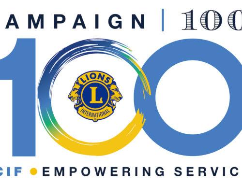 "La LCIF aiuta i Lion nel Service ""globale"""