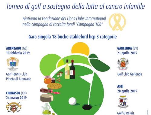 Torneo di Golf distrettuale per la LCIF