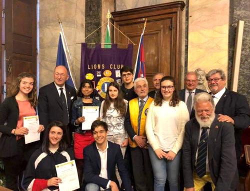 """Si è svolta a Cuneo la finale distrettuale del """"Premio Eloquenza"""""""