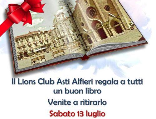 Il LC Asti Alfieri in piazza per diffondere la cultura della lettura
