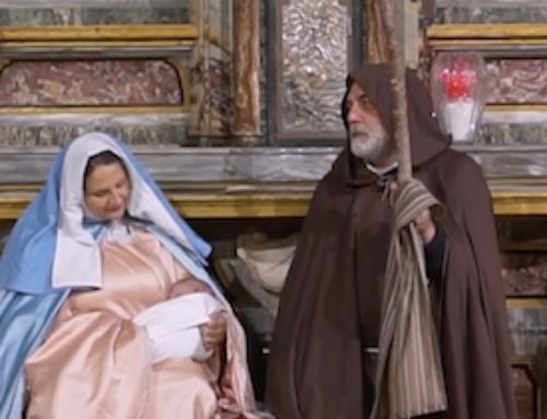 Il presepe vivente del LC storici, artisti e presepisti d'Asti