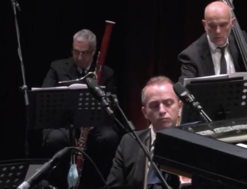 Il concerto di Natale con le musiche del M° Morricone, eseguite dall'orchestra sinfonica di Sanremo