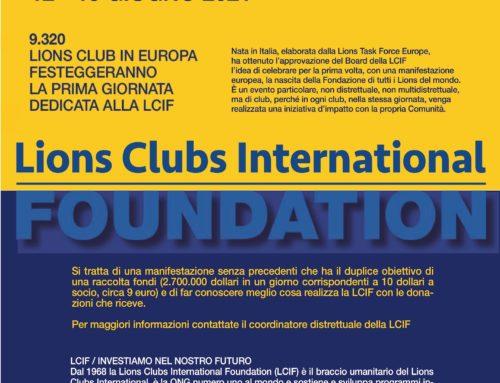 Save the date: 12/13 giugno 2021 – LCIF Day